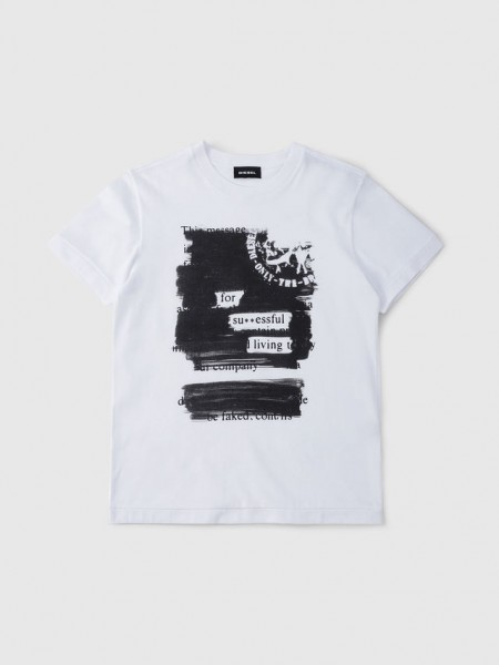 Tdiegorh T-Shirt white
