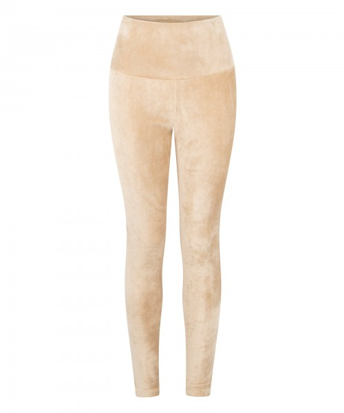 Leggings Velvet champagne