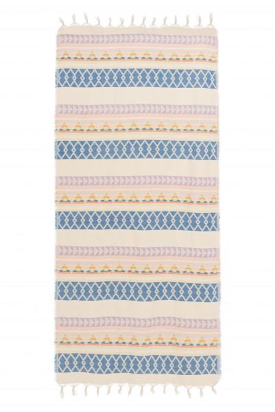 Towel Multi blue