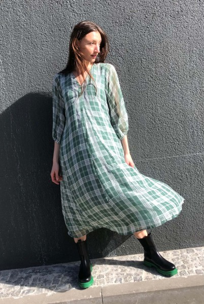 Green Dress Sea Spray