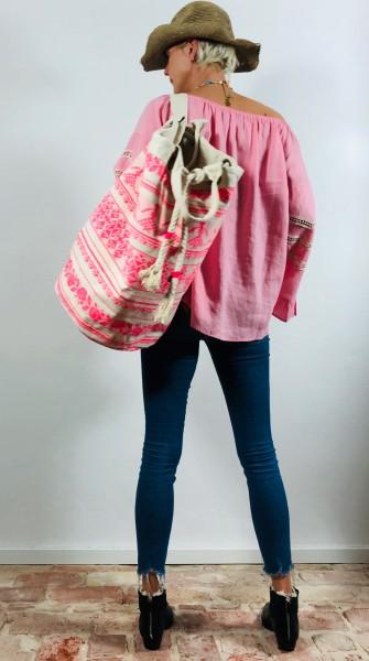 Seesack Beach Bag XXL Neon Pink