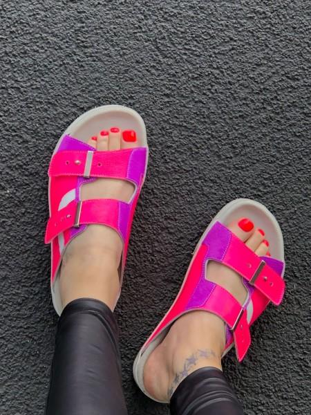Sundl Crinkled Pink
