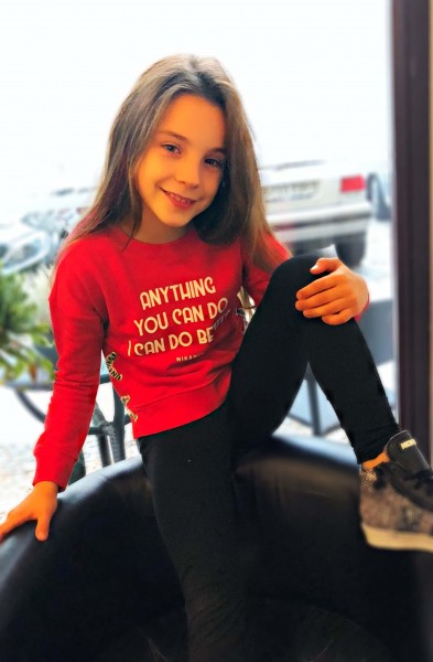 Anything Sweater Soft Red