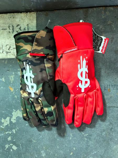 Money Drips Gloves