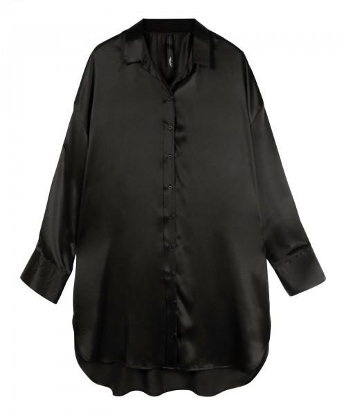 Tunic Dress silk black
