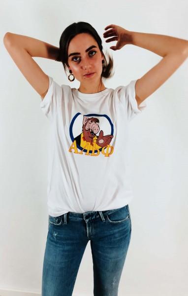 T-Shirt Alf weiß