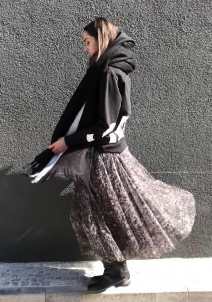 Tulle Skirt Leopard