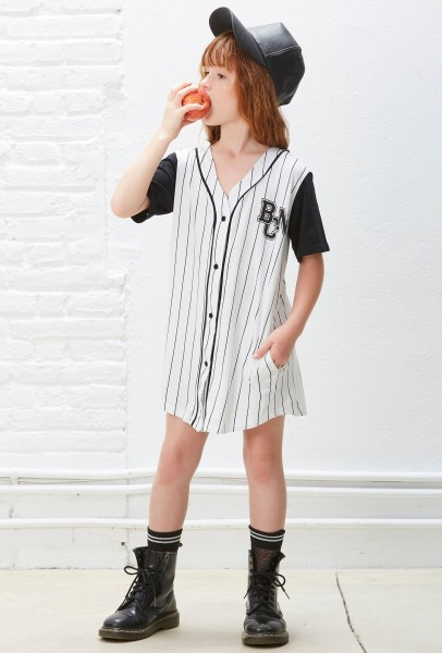 Baseball Dress Stripes