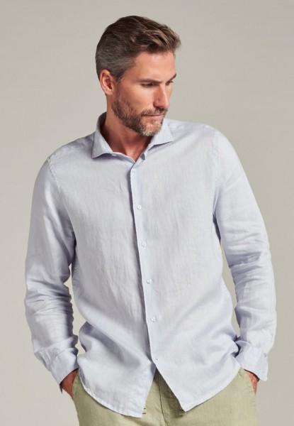 Jagger Shirt Linen Light blue