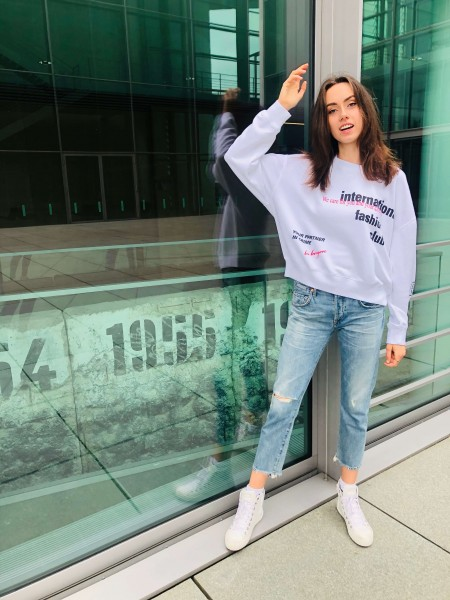 Sweater 'International Fashion Club' optic white