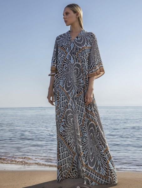 Long Dress Type Print