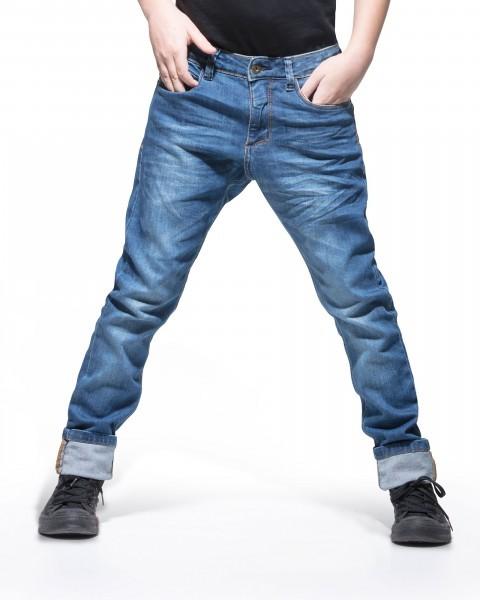 6-Pocket Tapered Fit Ocean Blue