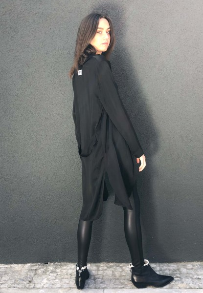 Long Blazer black