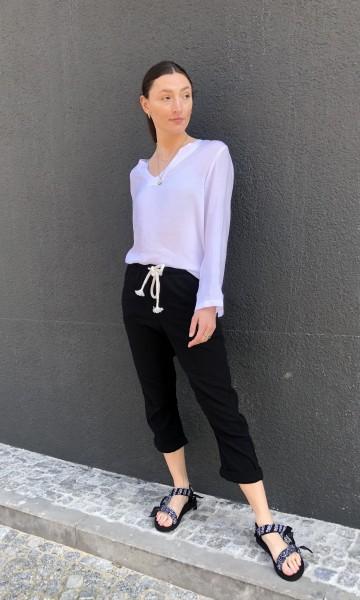 Pants Crinkle black