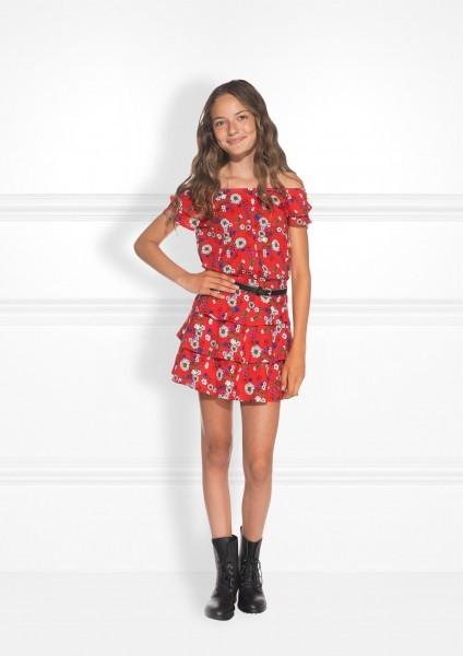 Macy Skirt Flower Print
