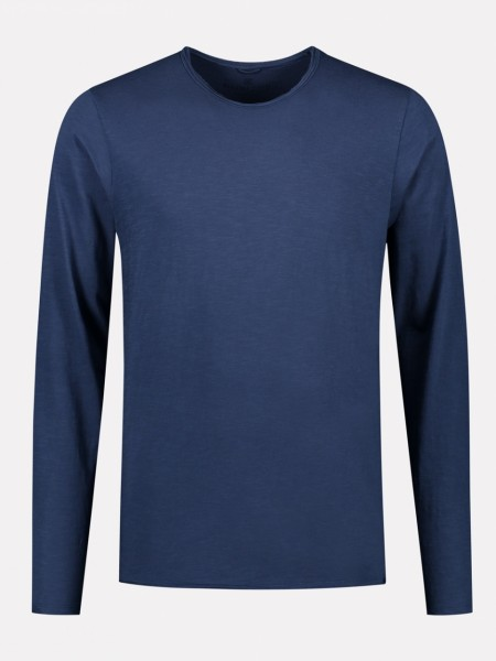 Basic Longsleeve Newmann steel blue