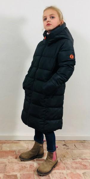 Mega9 Hooded Coat grey black