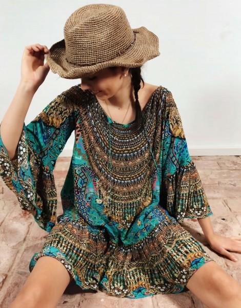 Gypsy Dress Emerald