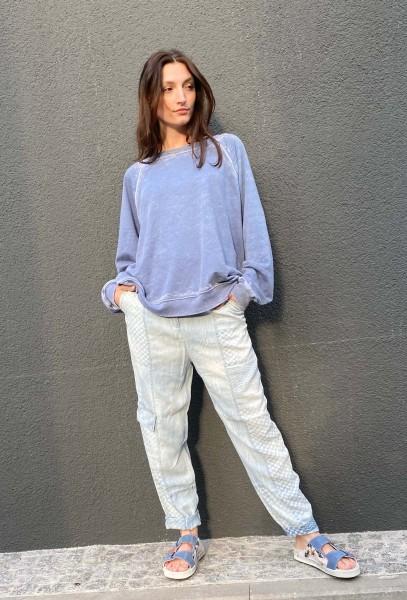 Sweatshirt Vintage Blue