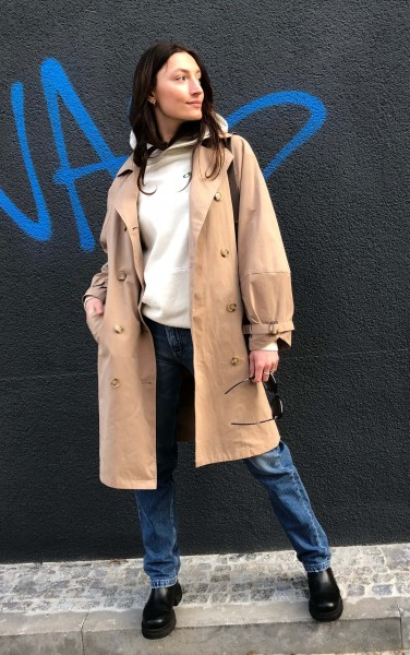 Jasmin Trench Coat beige