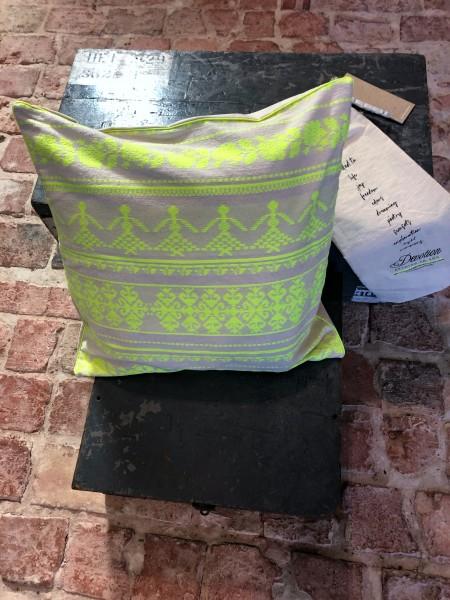 Pillow Neon Lime 50x50