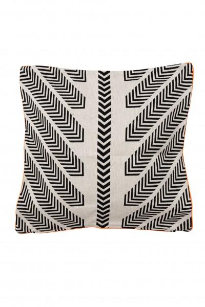 Pillow Black/White 50x50