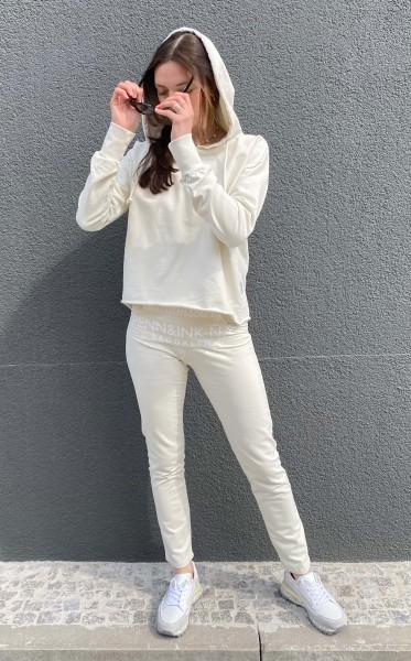 Sweatpant Ice Cream white