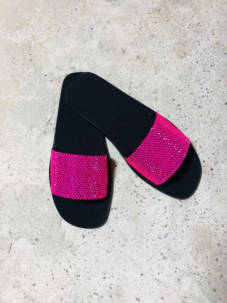 Roxy Swarovski Black/Pink