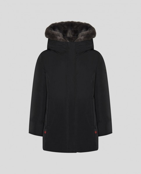 Girls Luxury Boulder Coat black