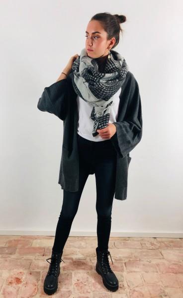 Jacket Isolde Dark Grey Melange