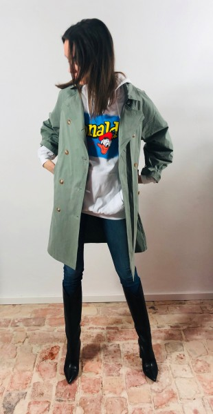 Coat Jasmin Vert Amande