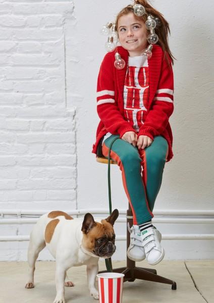 Bicolor Pants Green + Red
