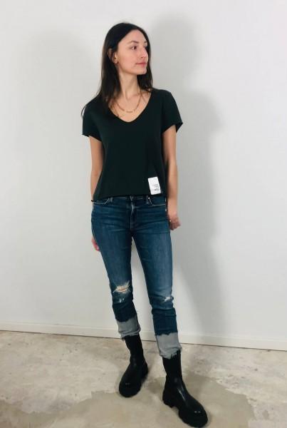Violetta Tags Shirt Charcoal