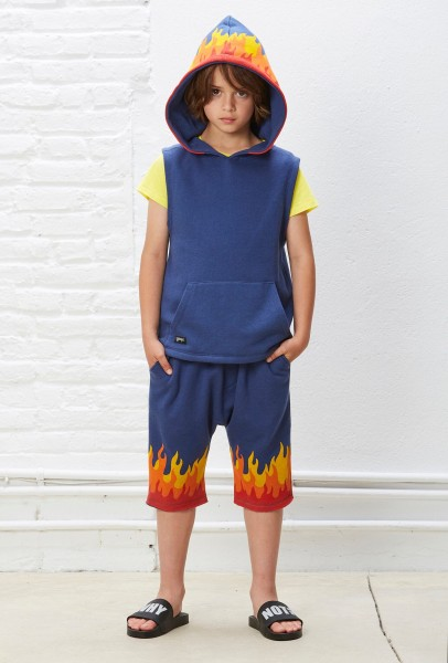 Flame Pants Navy