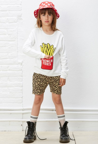 French Fries Sweater Offwhite