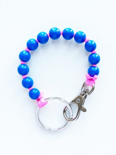Schlüsselanhänger Blue/Pink