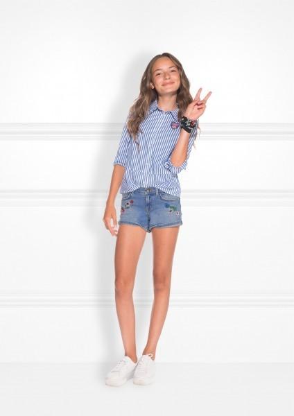 Femke Shorts Blue Denim