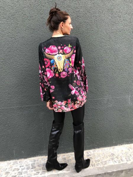 Nerissa Top Silk Blouse