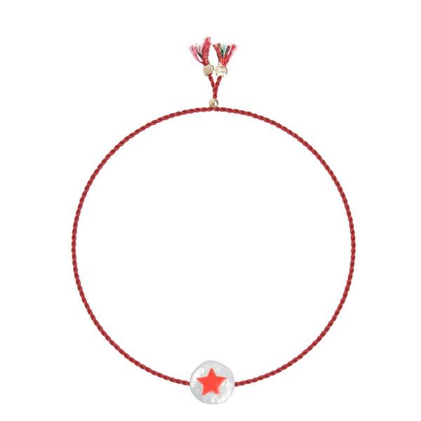 Charm Bracelet Star Süßwasserperle