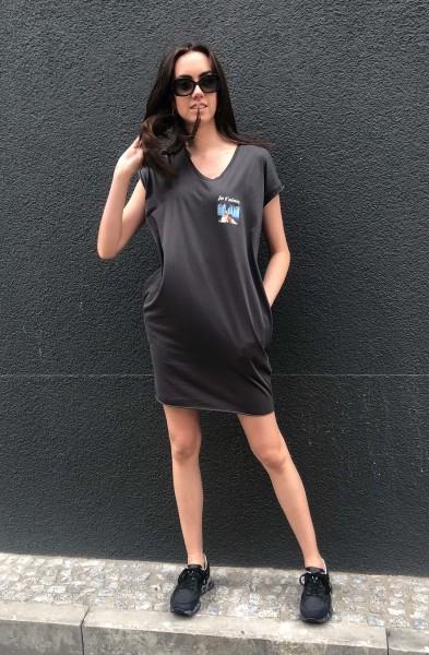 Bella Dress Merci charcoal