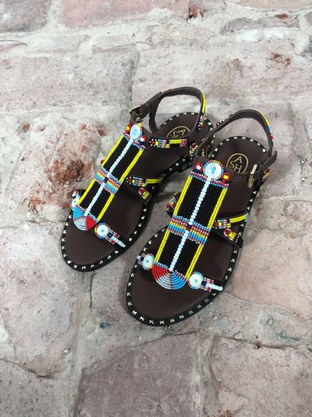 Polynesia Mogano Flat Sandals