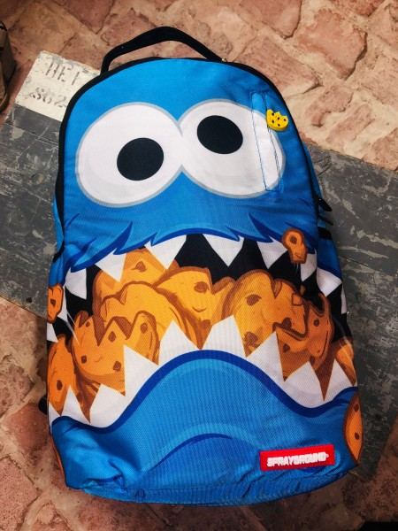 Cookie Monster Shark Backpack