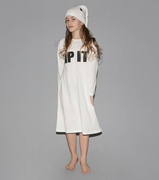 ZIP IT! Loungewear White