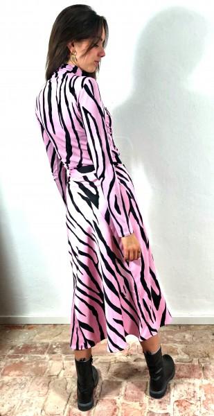 Claire Skirt Zebra Black/Pink