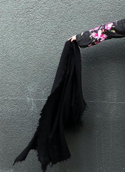 Cashmere Schal Black