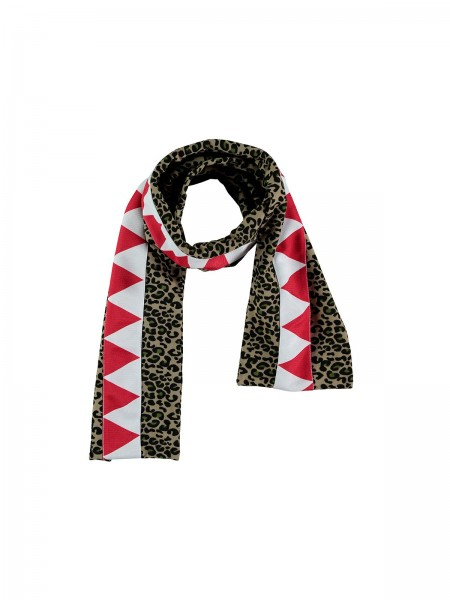 ANIMAL SCARF -leopard all over