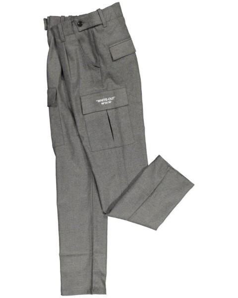 Pantalone Boy Grigio Flanell
