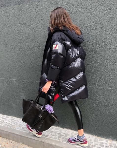 Piumino Woman Coat Black