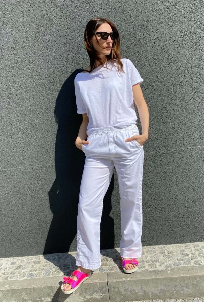 Trousers Limited white