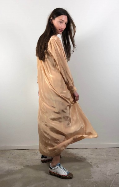 Faitheen Dress Dark Nude